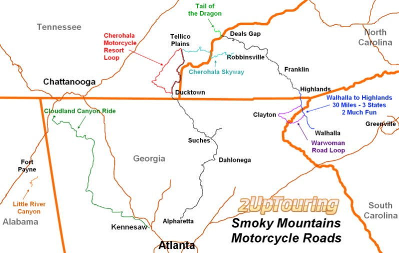 Exploring The Great Smoky Mountains A Motorcycle Road Paradise